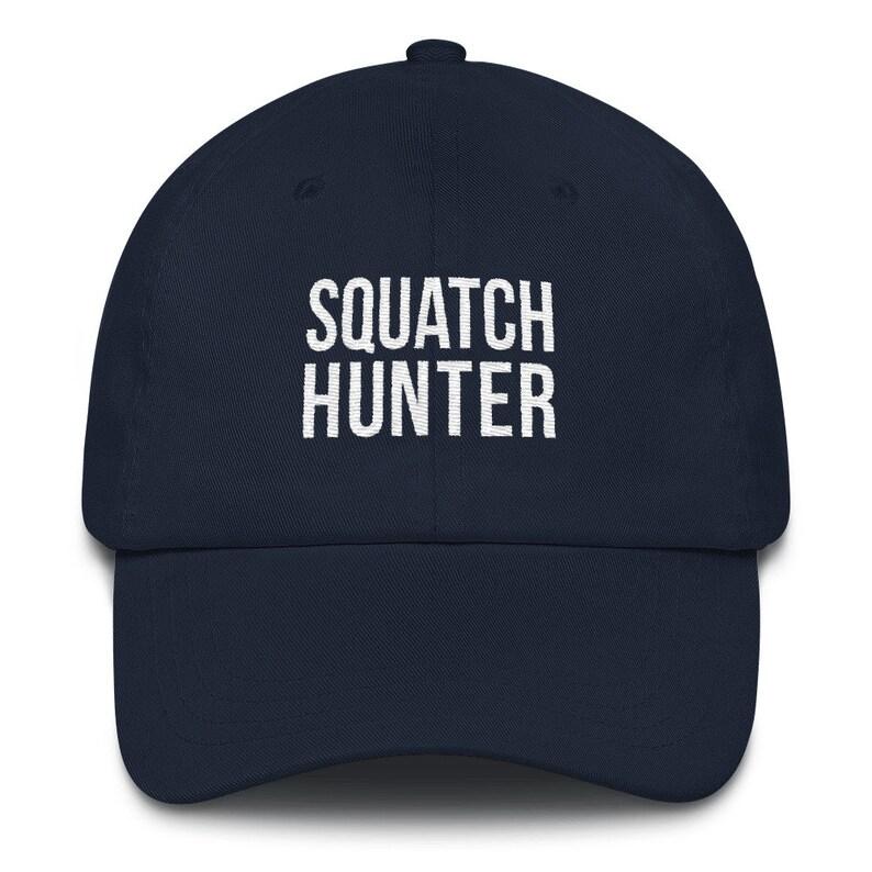 f3d3f03eed3 Bigfoot Embroidered Classic Dad Hat Squatch Hunter Sasquatch