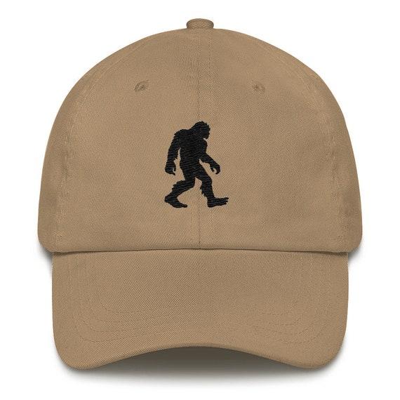 Bigfoot Embroidered Classic Dad Hat Sasquatch Silhouette Cap  786564ce707