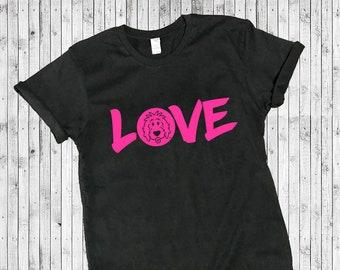 Doodle Love Short Sleeve Shirts, doodle shirt, doodle mom shirt, love shirt, dog lover shirt, goldendoodle shirt
