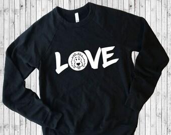 Doodle Love Long Sleeve Shirts, Doodle Shirt, Doodle Sweatshirt, Doodle Mom shirt, Dog Mom Shirt, Love Shirt, Dog Lover Shirt