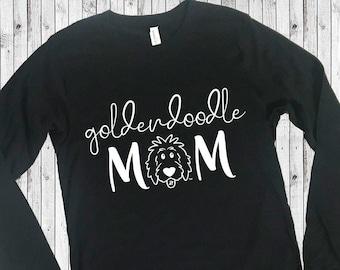 Doodle Mom Long Sleeve Shirts, doodle shirt, doodle sweatshirt, goldendoodle shirt, sheepadoodle, aussiedoodle, labradoodle, bernedoodle