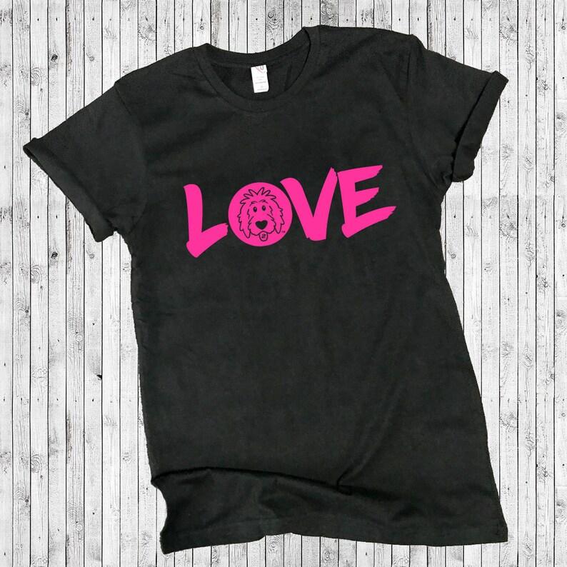Doodle LOVE Black Shirts  doodle shirt doodle mom shirt short sleeve vneck