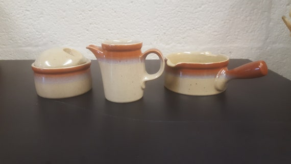 Vintage Mikasa Potters Art Ben Seibel Design Pf 850 Country Etsy