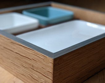 Bento boxes - handcrafted restaurant style - dishes included - Handmade