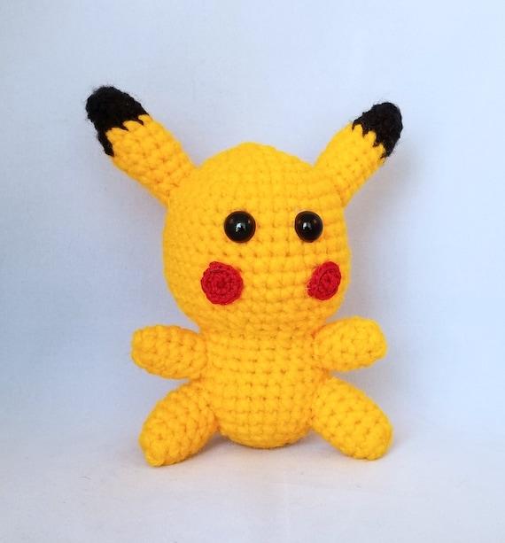 Pokemon Pikachu Knitted toy Stuffed Animals Plush toys