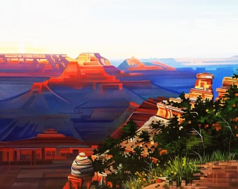The Canyon's Lullaby- Grand Canyon National Park, Arizona- Matted Limited Edition Print