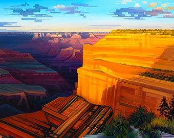 16x20 - The Grand Symphony - Grand Canyon National Park, Arizona