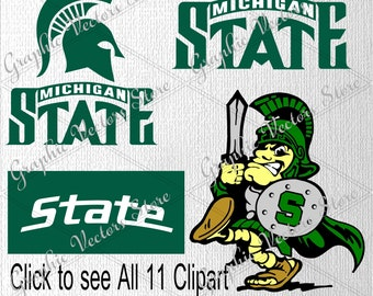 Michigan State svg, Files for Silhouette, Printable, Cricut, Files for Cutting Machine, Files for Decor, Print Files.