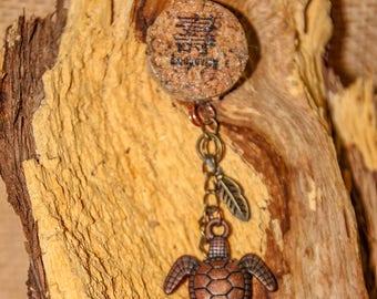 Turtle Cork Necklace