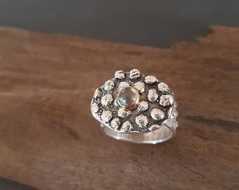 Little Rock Pool. Ring. Handmade.