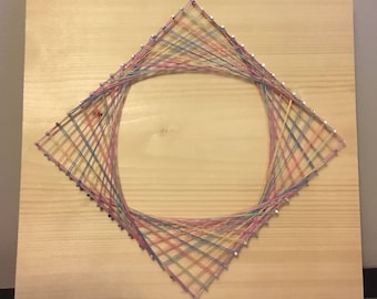 Optical String Art