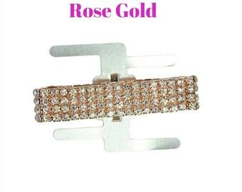 Choose Rhinestone Corsage Wristlet holder ~ Gem Wristlet #wedding #prom #homecoming