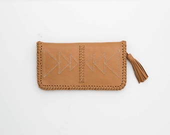 Boho Leather Wallet