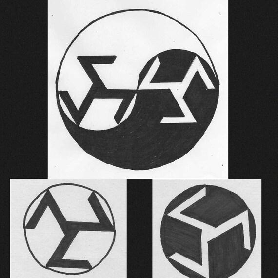 Reiki Master Symbol Antahkarana Prints Etsy