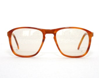 Vintage eyeglasses 1970s oversized Frames Made In Italy  BY Lozza Beene New Old Stock Multicolor Tone