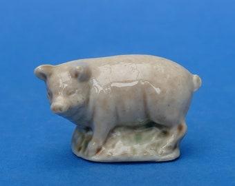 WADE Whimsie - Large PIG - English Whimsies Set 6 c1975