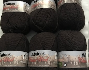 6 balls Patons Classic Wool Worsted