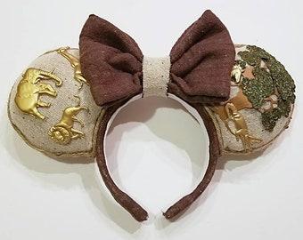 Animal Kingdom Park Mouse Ears - 20th Anniversary - Animal Kingdom - Walt Disney World - Disneybound - Safari Mouse Ears - Animal Mouse Ears