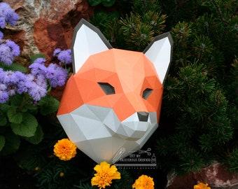 PDF Doberman head 3D Papercraft Lowpoly Papercraft trophy | Etsy