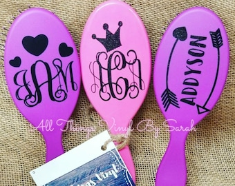 Monogrammed and Personalized Wet Brushes!