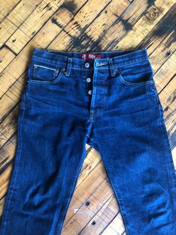 Levi Vintage Big E Jeans, Big E, Red Line, Salvedg