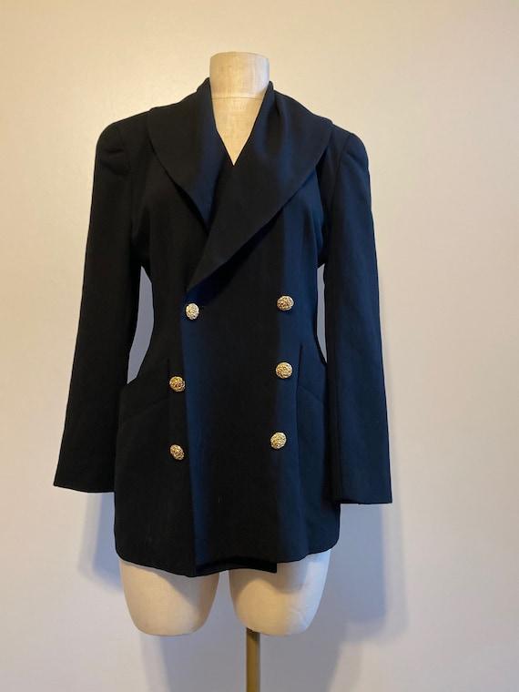 Dana Buchman Blazer, Vintage Blazer, Oversized Bla