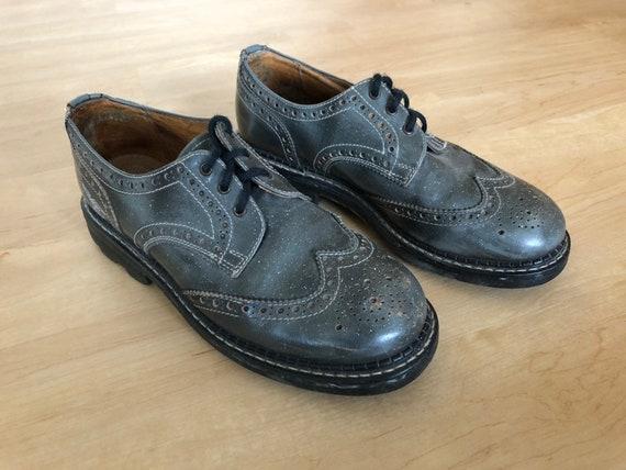 Vintage John Fluevog Shoes, Fluevog, Oxfords, Wing