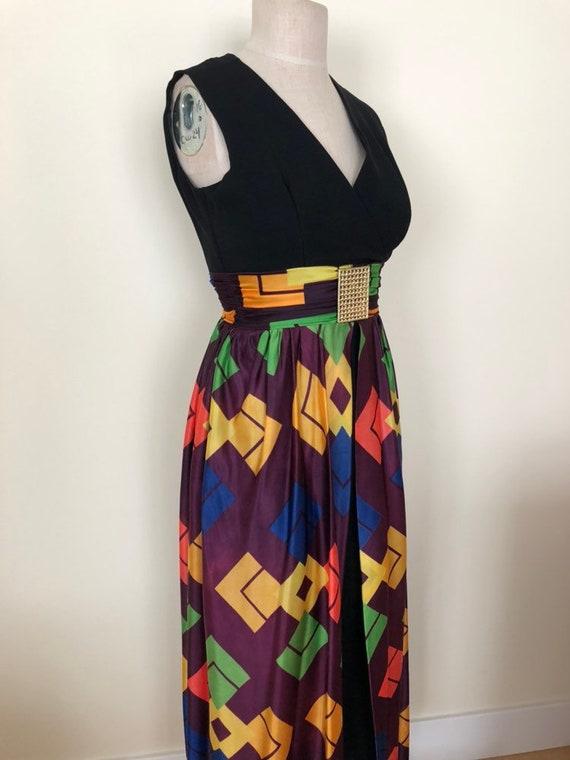 1960's Pant Suit Dress, Vintage Dress, Vintage Pan