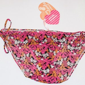 Vintage Valentine Romantic Rockabilly Pink Black /& White Love Panties Size 14