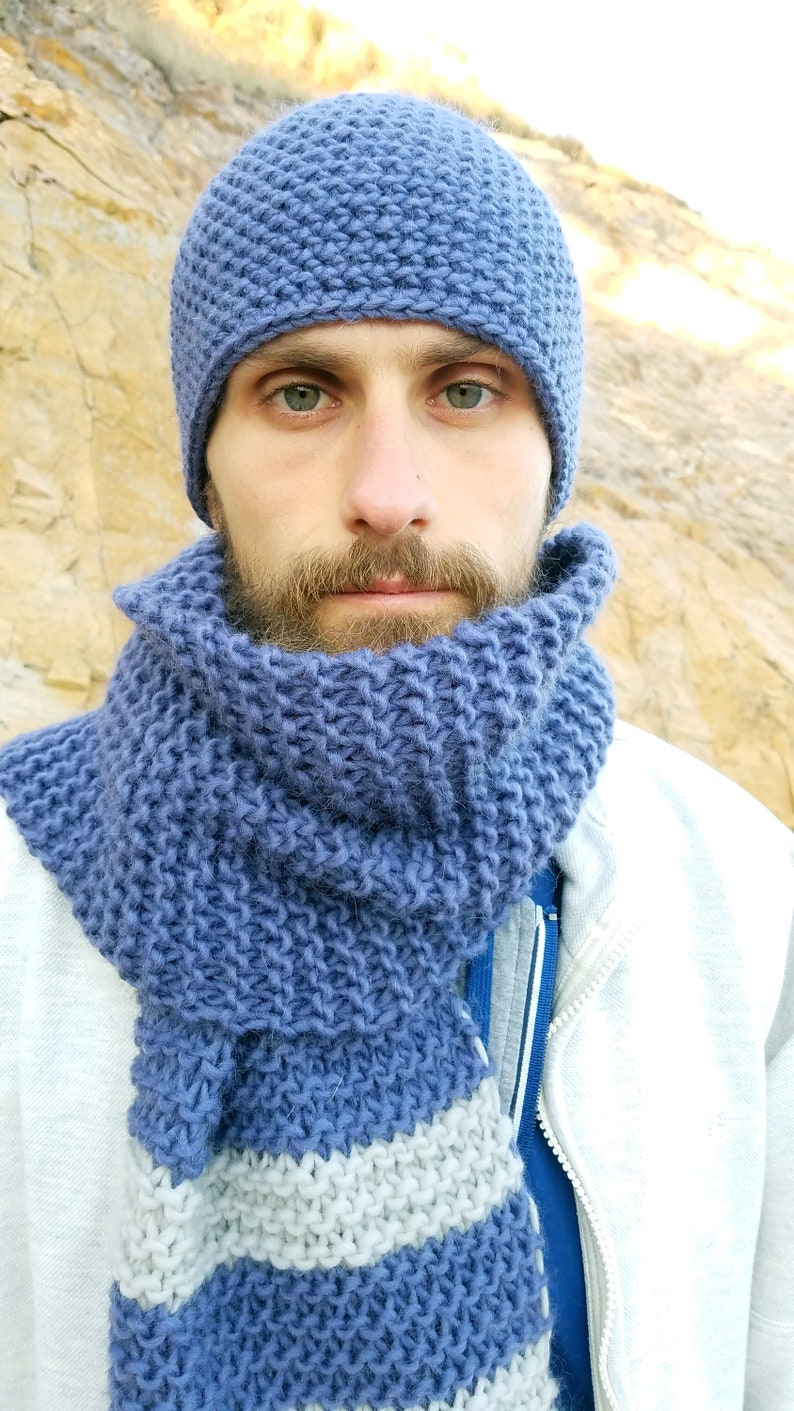 be78519bc17 Winter Hat and Scarf Winter Accessories for Men Crochet