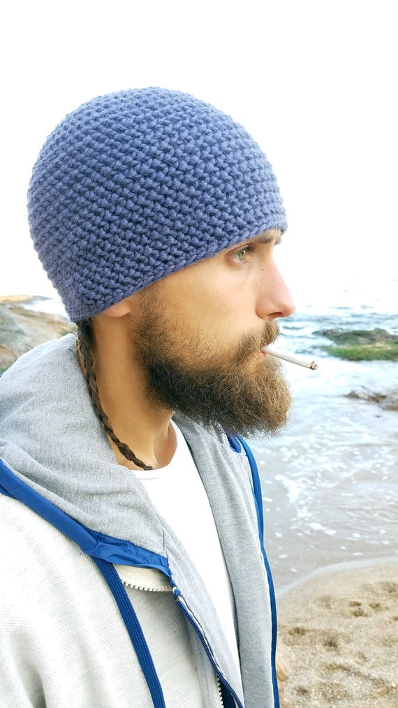 Crochet Hat Winter Hat Snow Hat Men Hat Warm Hat Merino Etsy