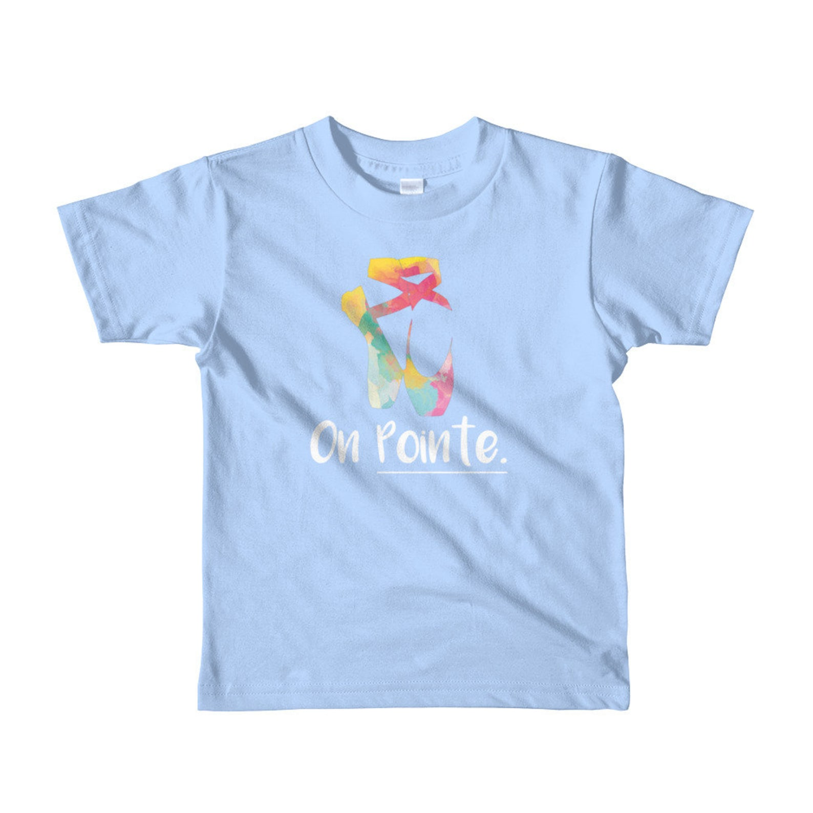 ballet pointe shoe kids t-shirt, cute ballet shirt, ballet shoe shirt, on pointe shirt, dancer shirt, classical dancer shirts, g