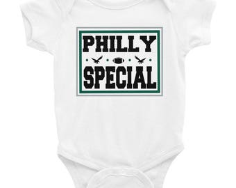 Philly Special Baby One Piece bodysuit, Philadelphia, Philly Special Baby one piece bodysuit, Eagles one piece bodysuit, Super Bowl baby