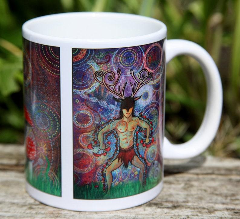Shaman and Mushroom cup image 0