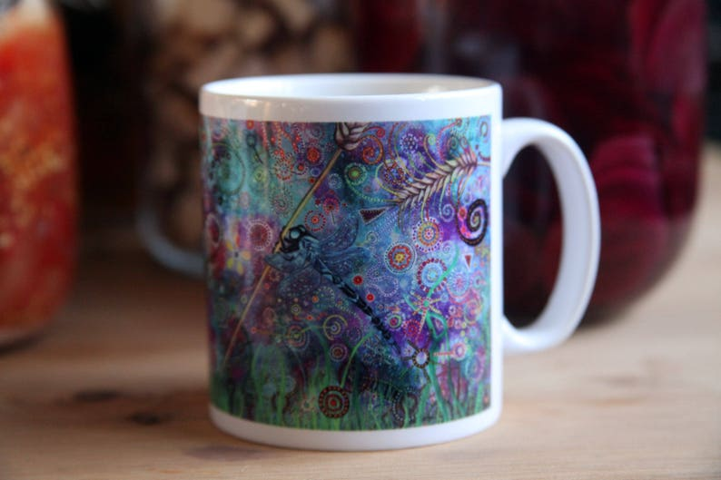 Dragonfly Dream Cup image 0