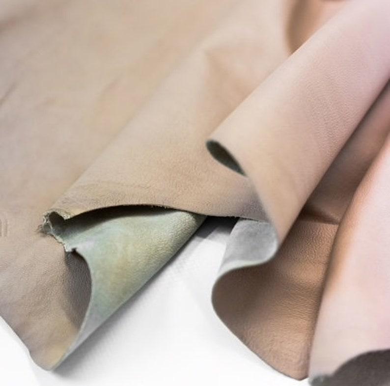 c309410d5df19 Staubige Rose Nappa-Leder für Kleidung Handtaschen und Schuhe