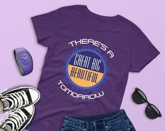 8d644a95e Carousel of Progress Women Shirt, Great Big Beautiful Tomorrow, Magic  Kingdom Shirt, Innoventions Disneyland, Disney Family Shirt, WDW Shirt