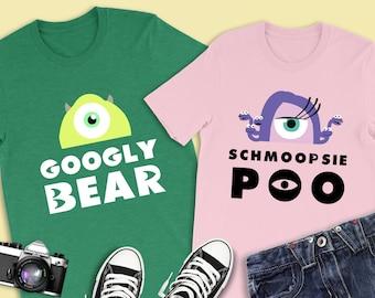 3b57d5163 Googly Bear Shirt, Monsters Inc Shirt, Disney Shirts, Disney Couple Shirt,  Couples Gift, Disney Shirts for Men, Disney Cruise, Disney World
