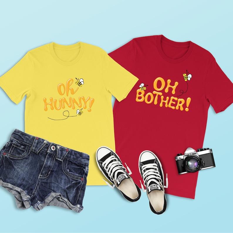 f8e289cf Winnie the Pooh Shirt Oh Hunny Shirt Pooh Bear Disney   Etsy