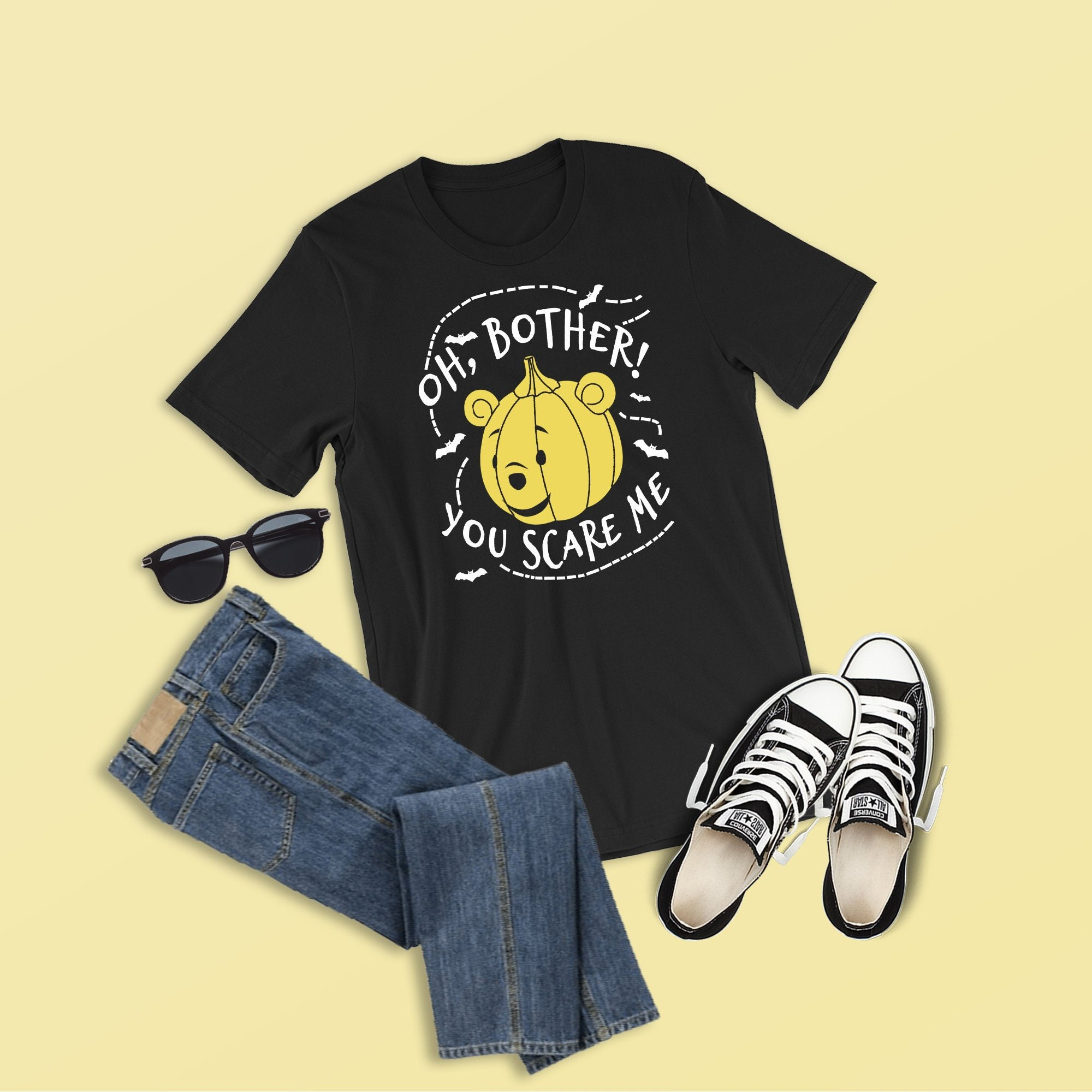 5dad1f9f4fbb Oh Bother You Scare Me Shirt Pooh Shirt Winnie the Pooh