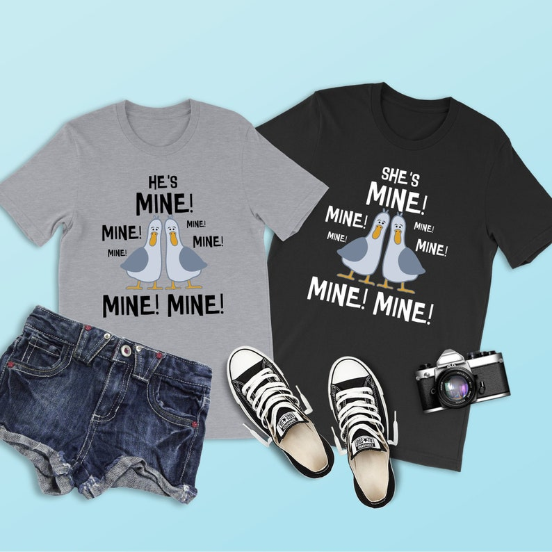 64bef218b6fc7 Finding Nemo Shirt He s Mine Shirt Seagull Shirt Disney