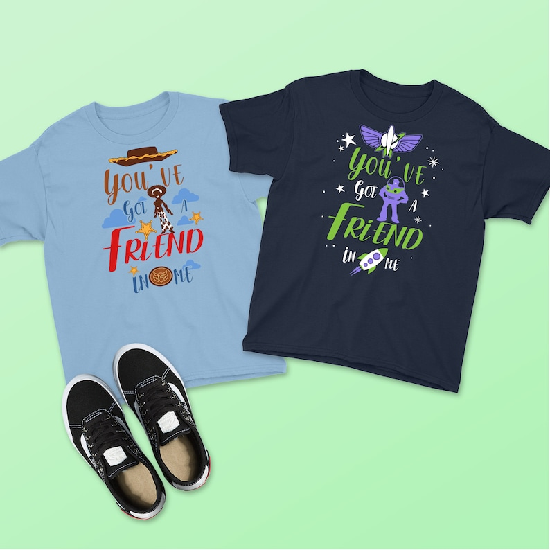 db3cf0aed Friend in Me Kid's Shirt Toy Story Shirt Buzz and   Etsy