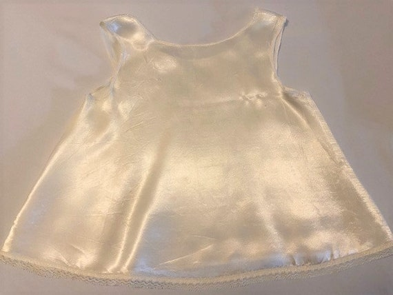 vintage '60s Christening gown with underdress & h… - image 6