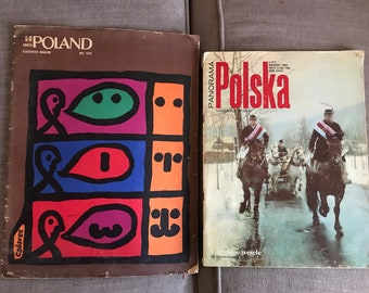 1972 & 1982 Polish Magazines- One in Polish, One in English