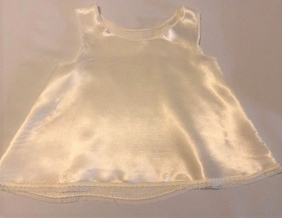 vintage '60s Christening gown with underdress & h… - image 5