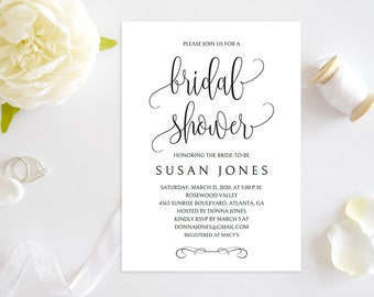 bridal shower invitation template printable bridal shower invitation modern bridal shower invitation bridal shower invitation pdfjuh06