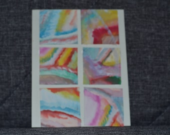 Medium Sized Multicolour Card