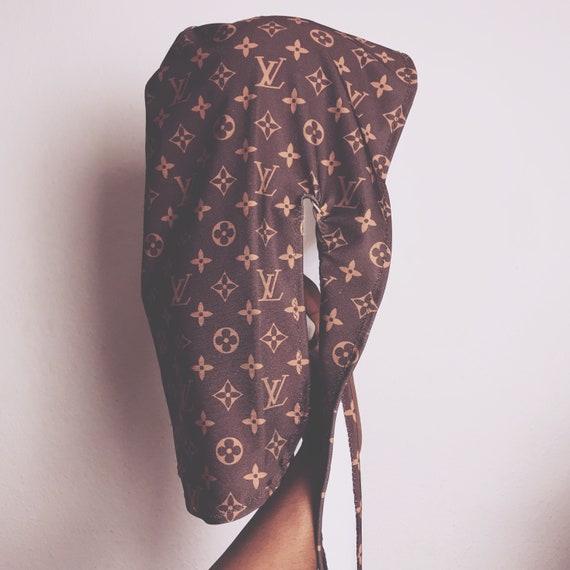 Louis Vuitton Inspired Durag Etsy