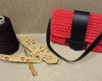Kit Isabel Floret in real leather