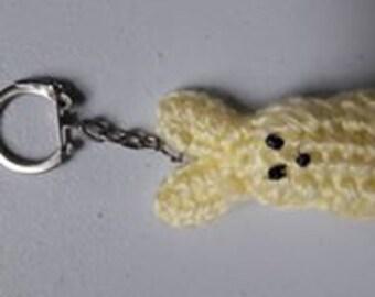 Bunny PEEP Keychain